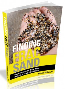 "Get the complimentary book ""Finding Frac Sand"" now"